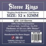 """Bored Game Company is the best place to buy Sleeve Kings """"Kingdom Death Monster"""" Card Sleeves (52x52mm) - 110 Pack, 60 Microns in India."""