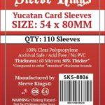Sleeve Kings Yucatan Card Sleeves (54x80mm) – 110 Pack, 60 Microns