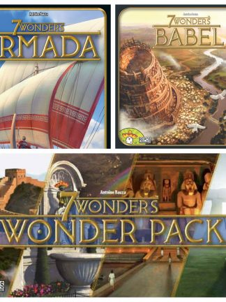 Buy 7 Wonders expansions only at Bored Game Company.