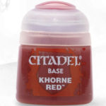 Citaldel Base Paints: Khorne Red