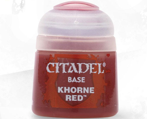Buy Citaldel Base Paints: Khorne Red only at Bored Game Company