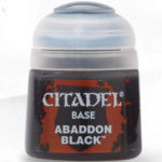 Citaldel Base Paints: Abaddon Black