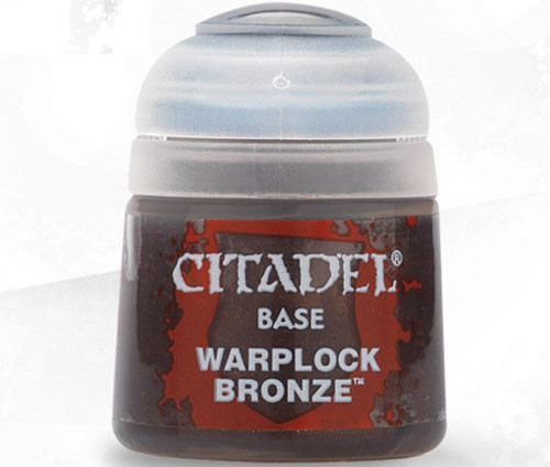Buy Citaldel Base Paints: Warplock Bronze only at Bored Game Company