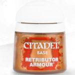Citaldel Base Paints: Retributor Armour