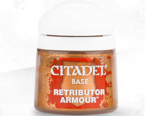 Buy Citaldel Base Paints: Retributor Armour only at Bored Game Company