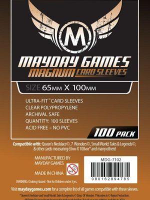 """Mayday Standard Sleeves: """"7 Wonders"""" Card Sleeves - Magnum Ultra-Fit (65x100mm)"""