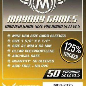 Mayday Premium Sleeves: Mini USA Card Sleeves (41x63mm)