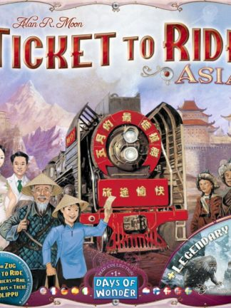 Buy Ticket to Ride Map Collection: Volume 1 – Team Asia & Legendary Asia only at Bored Game Company.