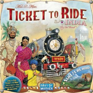 Buy Ticket to Ride Map Collection: Volume 2 – India & Switzerland only at Bored Game Company.