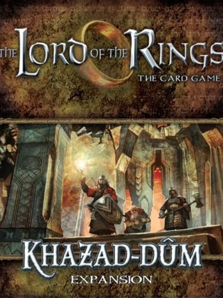Buy The Lord of the Rings: The Card Game – Khazad-dûm only at Bored Game Company.