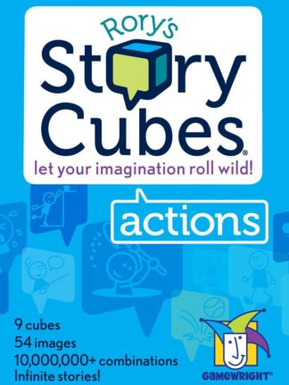 Buy Rory's Story Cubes: Actions only at Bored Game Company.