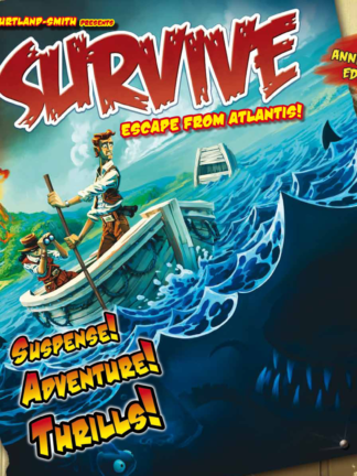 Buy Survive: Escape from Atlantis! only at Bored Game Company.