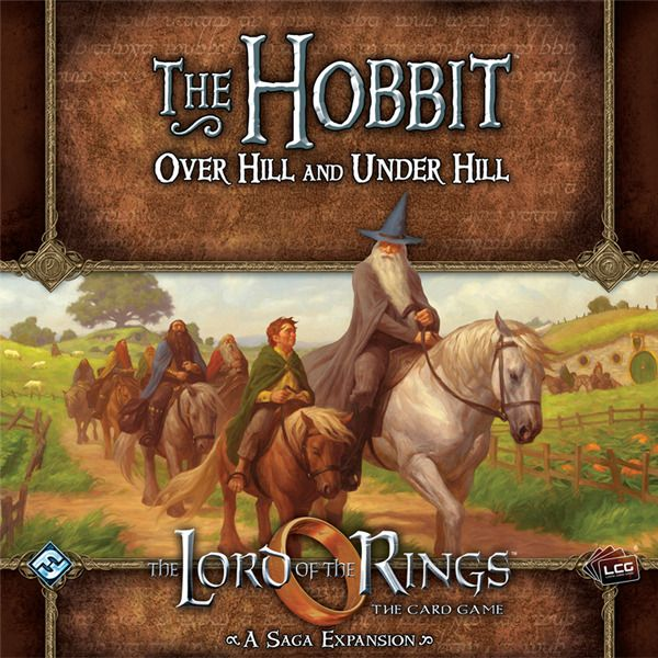 Buy The Lord of the Rings: The Card Game – The Hobbit: Over Hill and Under Hill only at Bored Game Company.