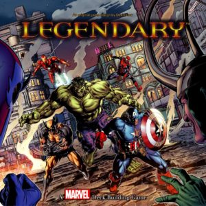 Buy Legendary: A Marvel Deck Building Game only at Bored Game Company.
