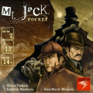 Buy Mr. Jack Pocket only at Bored Game Company.
