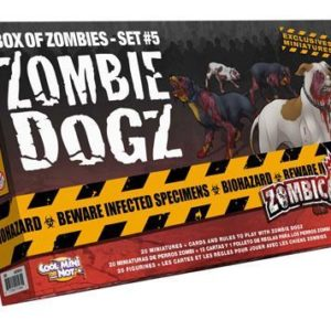 Buy Zombicide: Box of Zombies Set #5 – Zombie Dogz only at Bored Game Company.