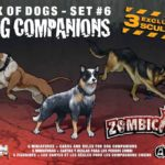 Buy Zombicide Box of Dogs Set #6: Dog Companions only at Bored Game Company.