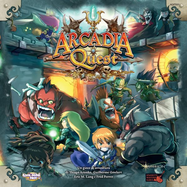 Buy Arcadia Quest only at Bored Game Company.