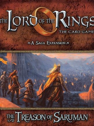 Buy The Lord of the Rings: The Card Game – The Treason of Saruman only at Bored Game Company.