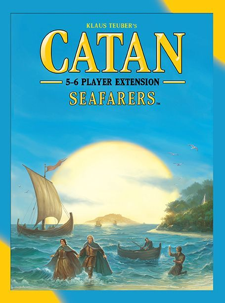 Buy Catan: Seafarers – 5-6 Player Extension only at Bored Game Company.