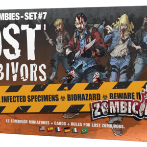Buy Zombicide: Box of Zombies Set #7 – Lost Zombivors only at Bored Game Company.