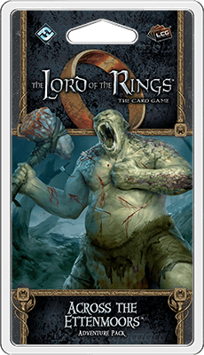 Buy The Lord of the Rings: The Card Game – Across the Ettenmoors only at Bored Game Company.