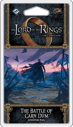 Buy The Lord of the Rings: The Card Game – The Battle of Carn Dûm only at Bored Game Company.