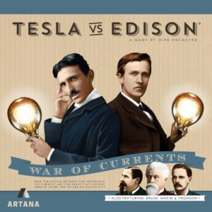Buy Tesla vs. Edison: War of Currents only at Bored Game Company.