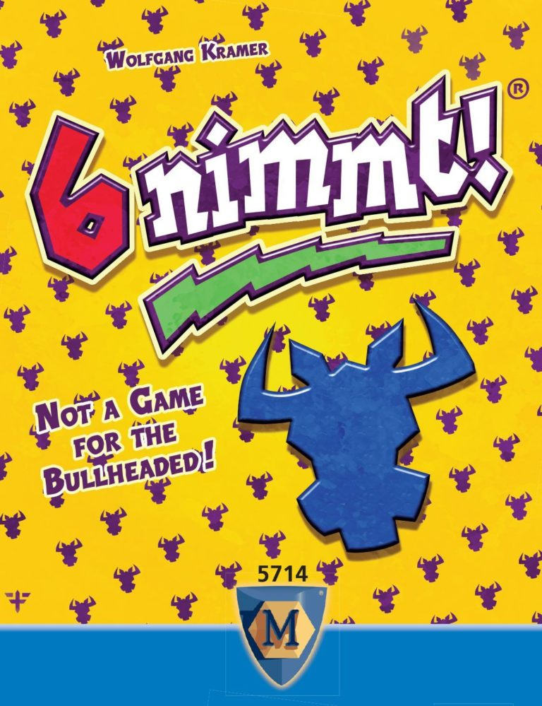 Buy 6 nimmt! only at Bored Game Company.