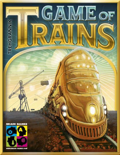 Buy Game of Trains only at Bored Game Company.