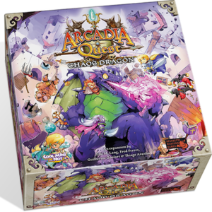 Buy Arcadia Quest: Chaos Dragon only at Bored Game Company.