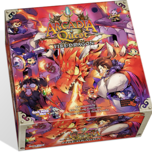 Buy Arcadia Quest: Fire Dragon only at Bored Game Company.