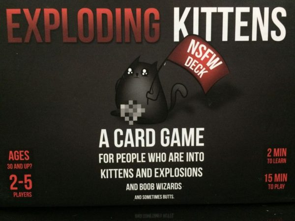 Buy Exploding Kittens: NSFW Deck only at Bored Game Company.