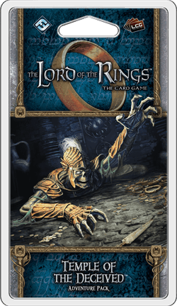 Buy The Lord of the Rings: The Card Game – Temple of the Deceived only at Bored Game Company.