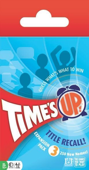 Buy Time's Up: Title Recall – Expansion 3 only at Bored Game Company.