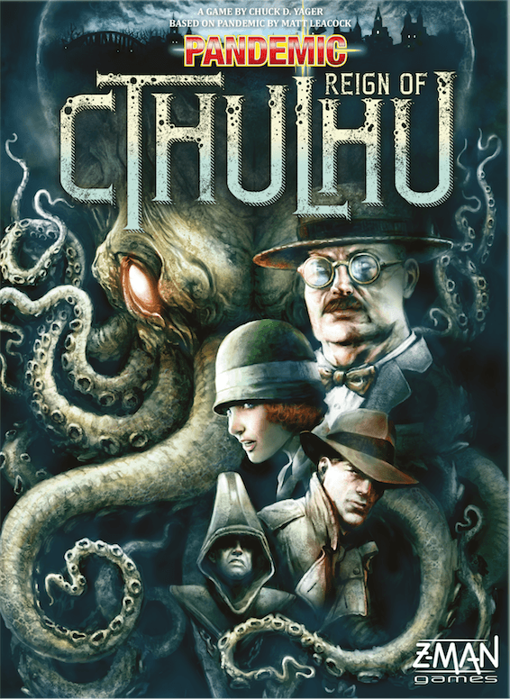 Buy Pandemic: Reign of Cthulhu only at Bored Game Company.