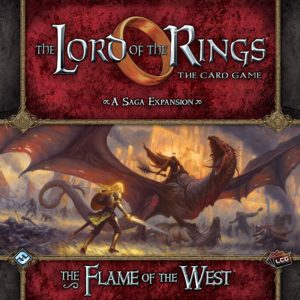 Buy The Lord of the Rings: The Card Game – The Flame of the West only at Bored Game Company.