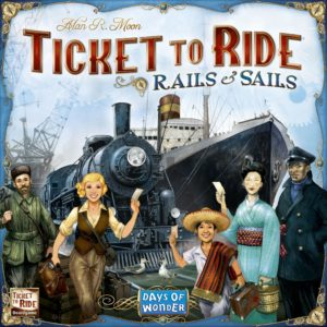Buy Ticket to Ride: Rails & Sails only at Bored Game Company.