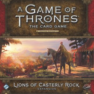 Buy A Game of Thrones: The Card Game (Second Edition) – Lions of Casterly Rock only at Bored Game Company.