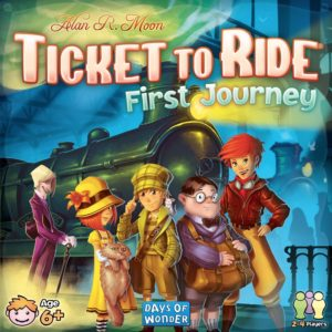 Buy Ticket to Ride: First Journey (U.S.) only at Bored Game Company.