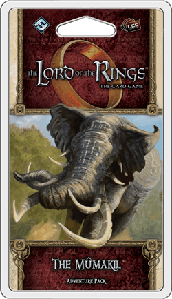 Buy The Lord of the Rings: The Card Game – The Mûmakil only at Bored Game Company.