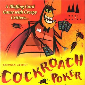 Buy Cockroach Poker only at Bored Game Company.