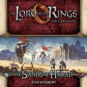 Buy The Lord of the Rings: The Card Game – The Sands of Harad only at Bored Game Company.