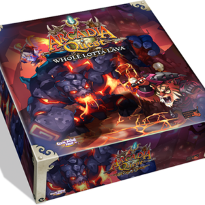 Buy Arcadia Quest: Inferno – Whole Lotta Lava only at Bored Game Company.