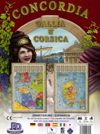 Buy Concordia: Gallia / Corsica only at Bored Game Company.