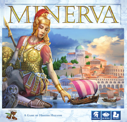 Buy Minerva only at Bored Game Company.