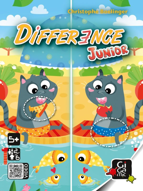 Buy Difference Junior only at Bored Game Company.