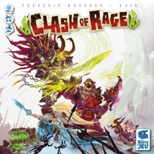 Buy Clash of Rage only at Bored Game Company.