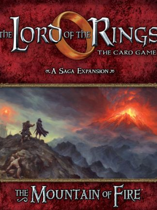 Buy The Lord of the Rings: The Card Game – The Mountain of Fire only at Bored Game Company.
