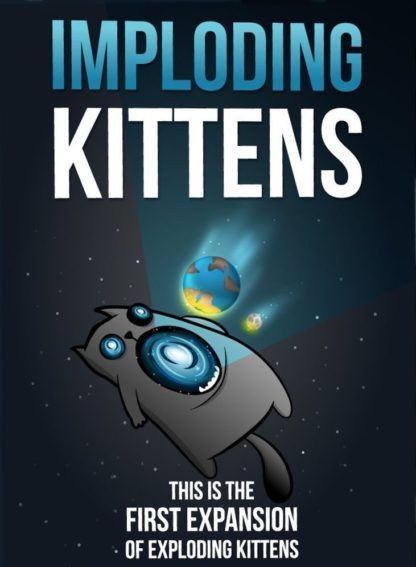 Buy Exploding Kittens: Imploding Kittens only at Bored Game Company.